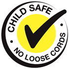 Child Safe - No Loose Cords