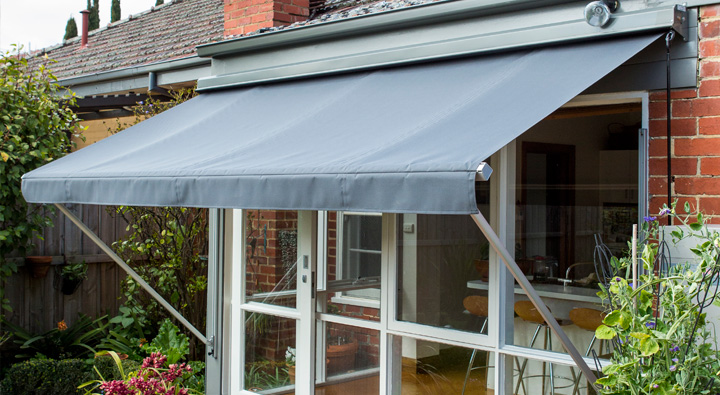 Outdoor awnings for patios