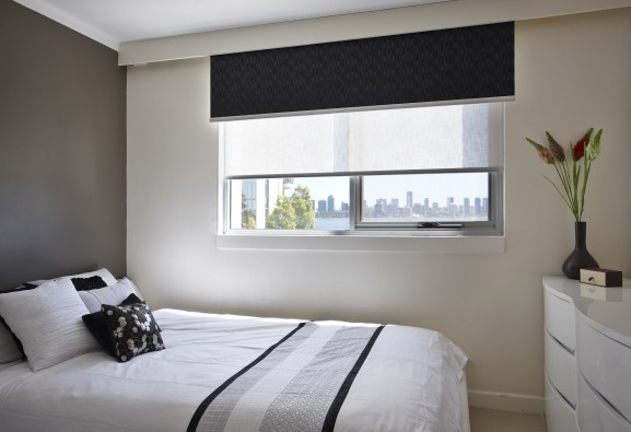 Double Roller Blockout Blinds Kresta Australia